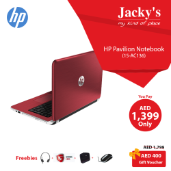 HP PavilionNotebook