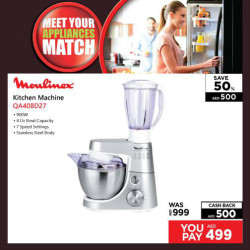 Moulinex Kitchen Matchine