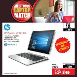 HP Pavilion x2 10n-102 Notebook