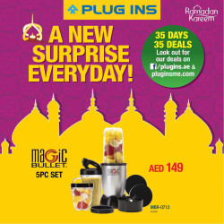 Magic Bullet 5Pc set