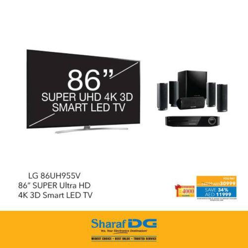 LG 86UH955V Smart TV