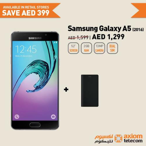 Samsung Galaxy A5 Smartphone Deal at Axiom - Online Shopping UAE