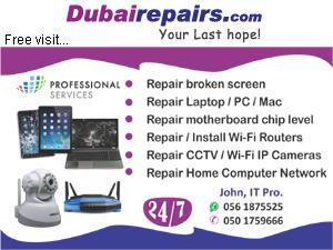 Laptop Repair in Dubai