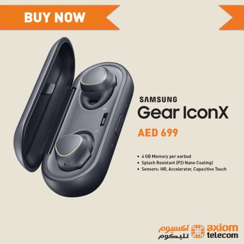 Samsung Gear IconX Headset Shopping at Axiom - Online
