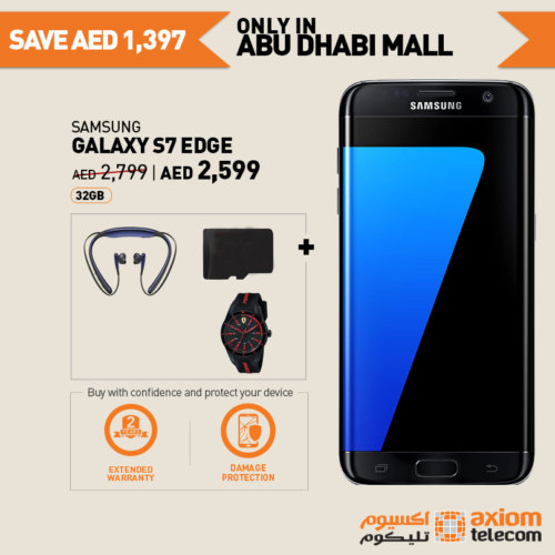 Samsung Galaxy S7 Edge Smartphone Shopping at Axiom - Online